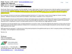 Colorado MED Response Letter